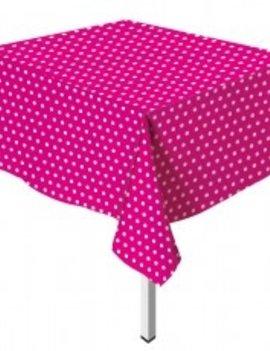 Tafeldoek Roze Dots
