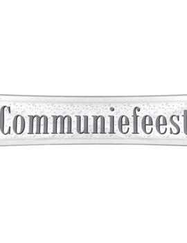 Banner Communie 180cm x 40cm