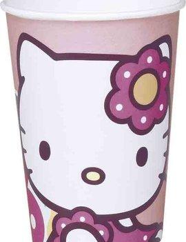 Hello Kitty Bekertjes 10 Stuks