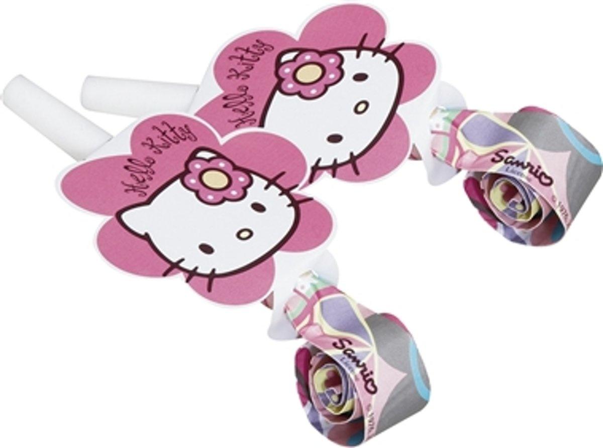 Hello Kitty Fluitjes 6 Stuks