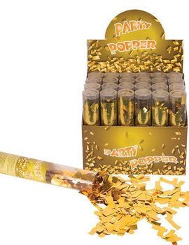 Confettikanon Goud | Party Popper