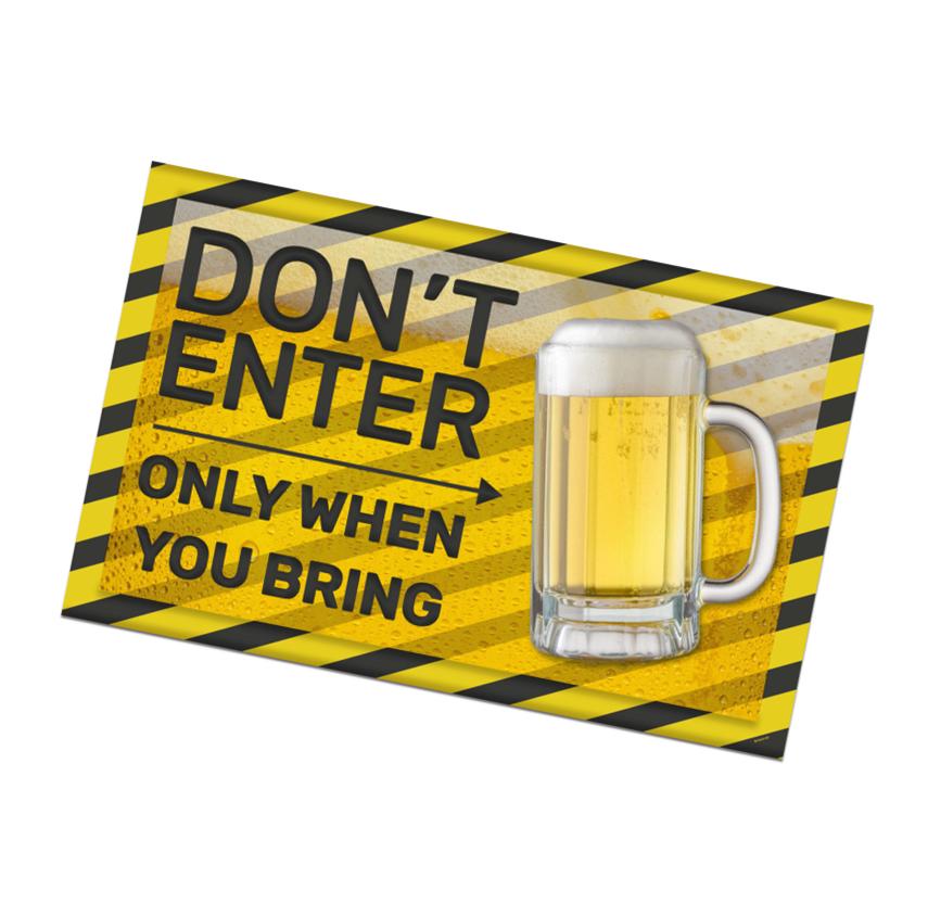 Bierfeest Muurhanger Don't Enter!