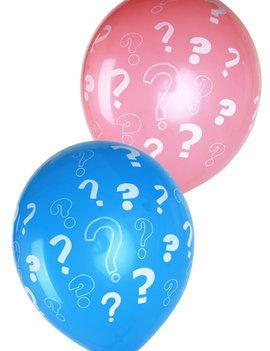 Gender Reveal Ballonnen 8 Stuks