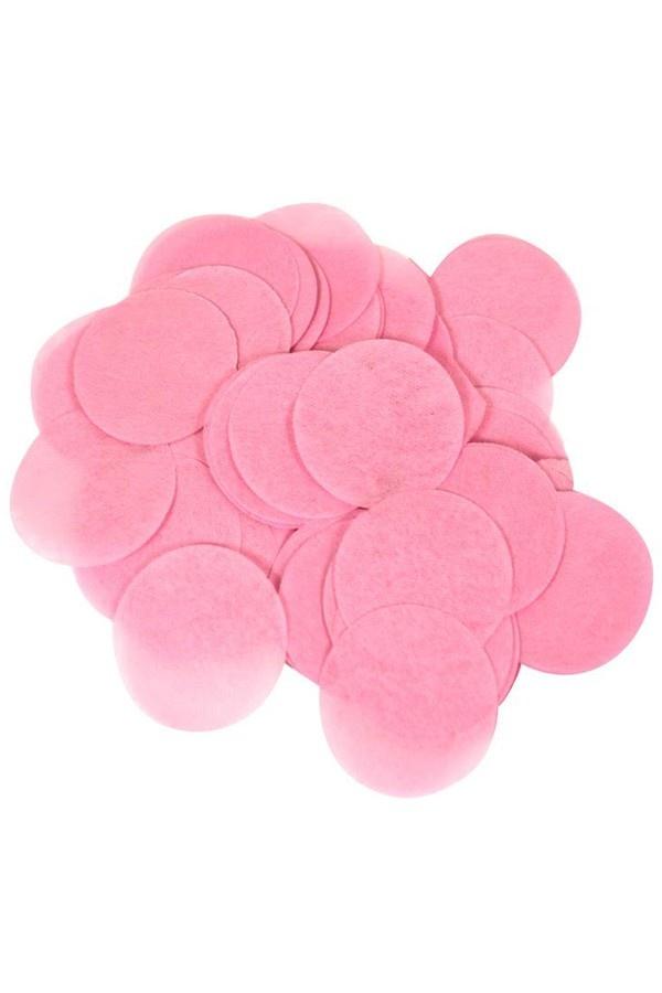 Lichtroze Bollen Confetti 20 Gram