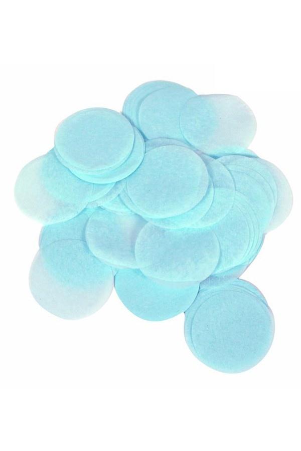 Lichtblauwe Bollen Confetti 20Gram