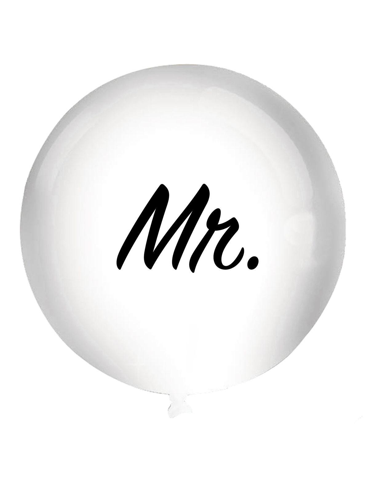 Mega Ballon Mr.' 92cm