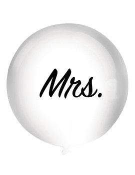 Mega Ballon Mrs. 92cm