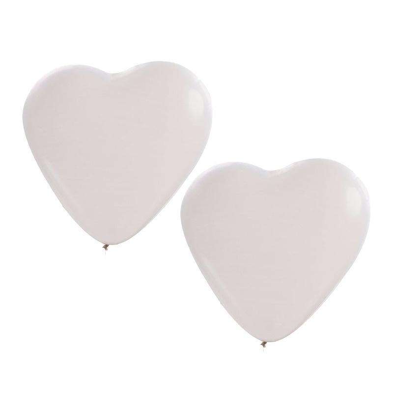 Ballonnen Witte Hartjes