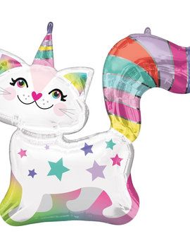 Birthday Cat Folieballon