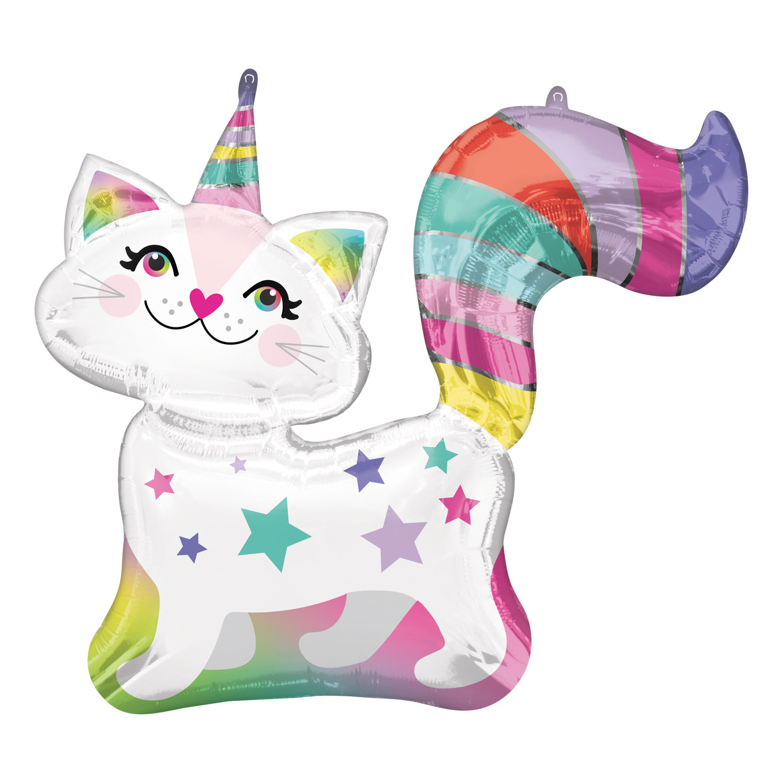 Birthday Cat Folieballon