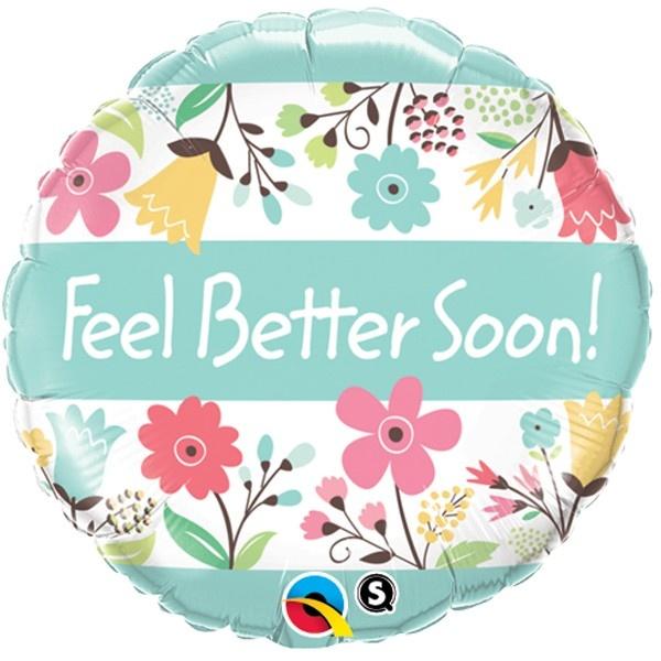 Feel Better Soon Folieballon