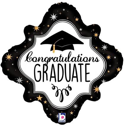 Geslaagd Graduate Folieballon