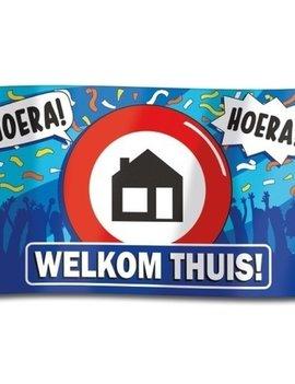 Gevelvlag 'Welkom Thuis' 100cm x 150cm