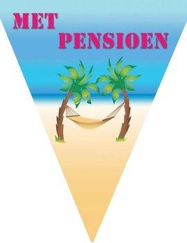 Vlaggenlijn 'Met Pensioen' 5m