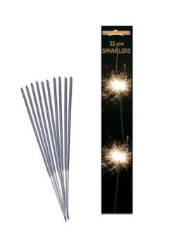 Vuurwerkstokjes | Taartstokjes 25cm