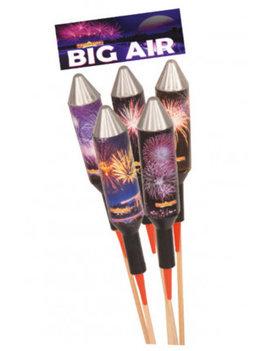 Big Air Vuurwerkpijlen 60m - 70m Hoog
