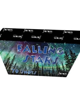 Falling Star Vuurwerkbatterij 70 Shots  | Stil Vuurwerk