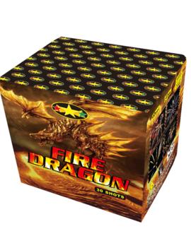 Fire Dragon  Vuurwerkbatterij 30 Shots
