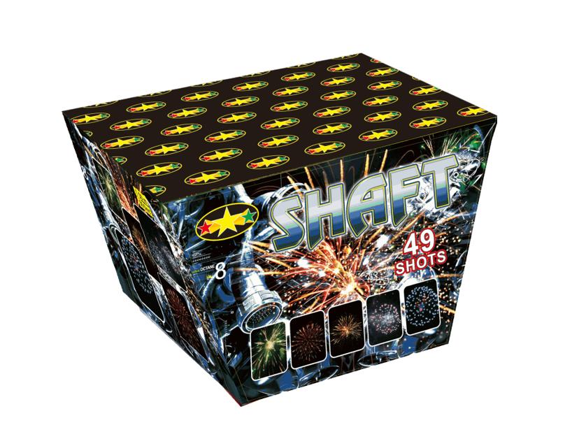 Shaft Vuurwerkbatterij 49 Shots