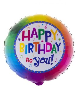 Happy Birthday To You Folieballon