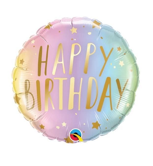 Happy Birthday Fairytail Folieballon 18inch