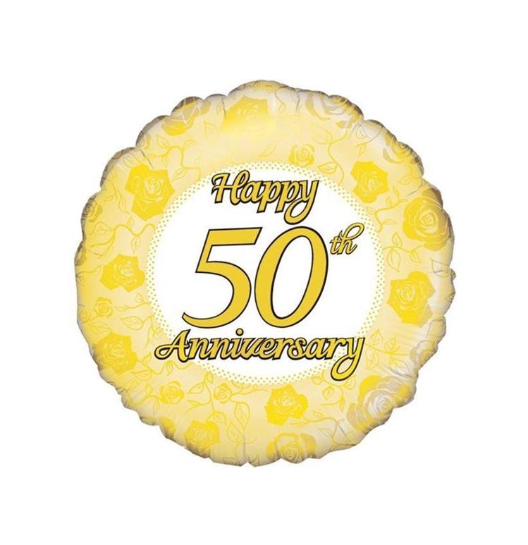 Jubileum 50  Folieballon 18inch
