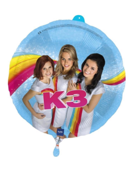K3 Folieballon 18inch