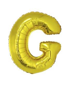 Letter G Folieballon Goud 40inch