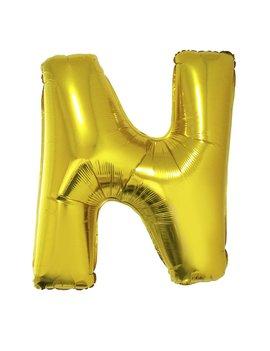 Letter N Folieballon Goud 40inch