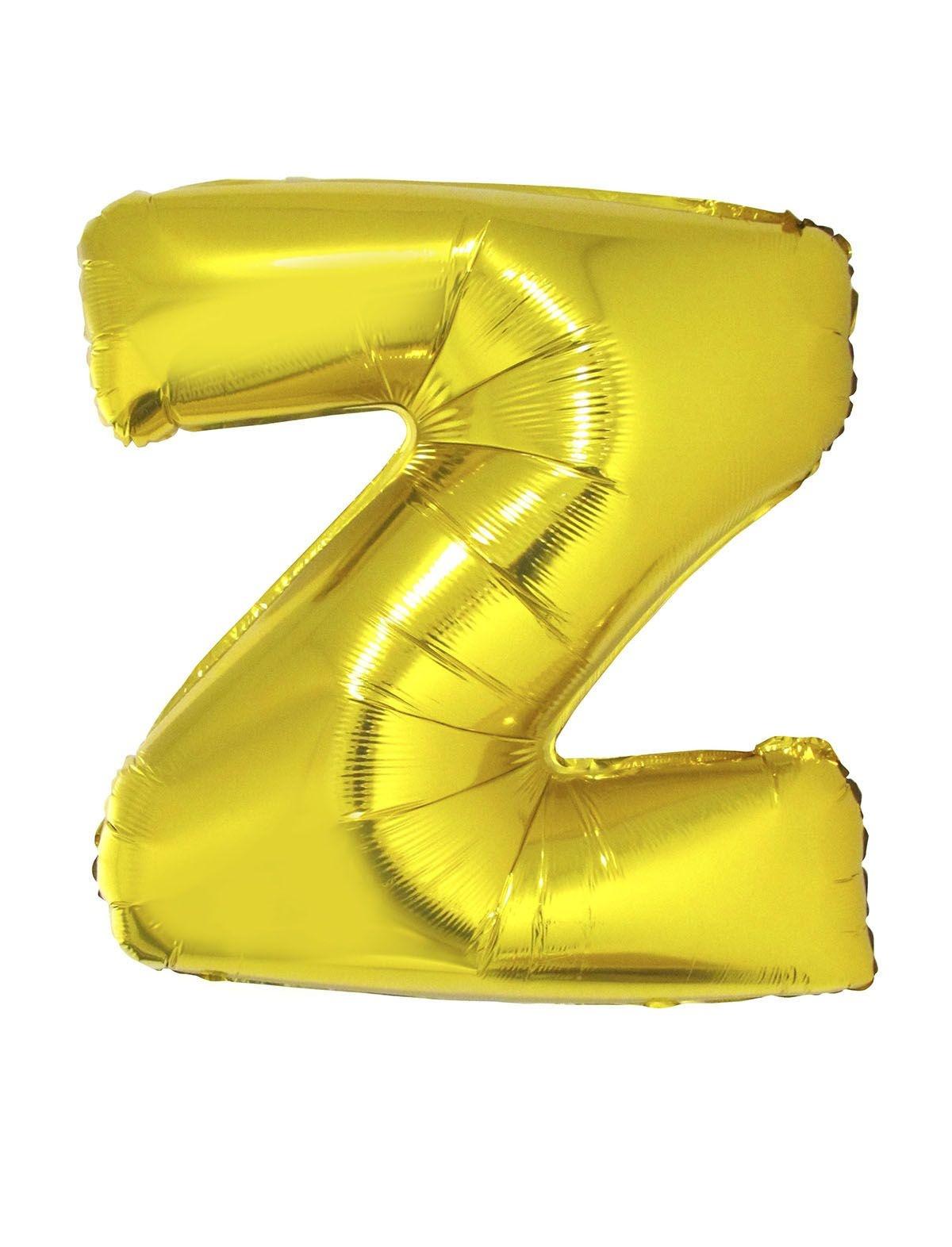 Letter Z Folieballon Goud 40inch