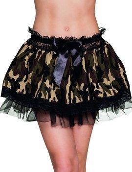 Leger Tutu | Rokje Camouflage | Petticoat