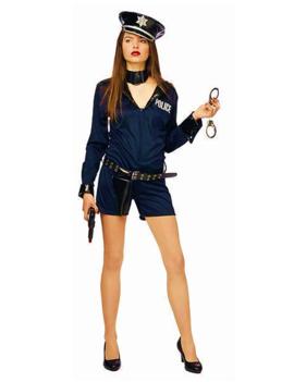 Politievrouw Kostuum| Sexy
