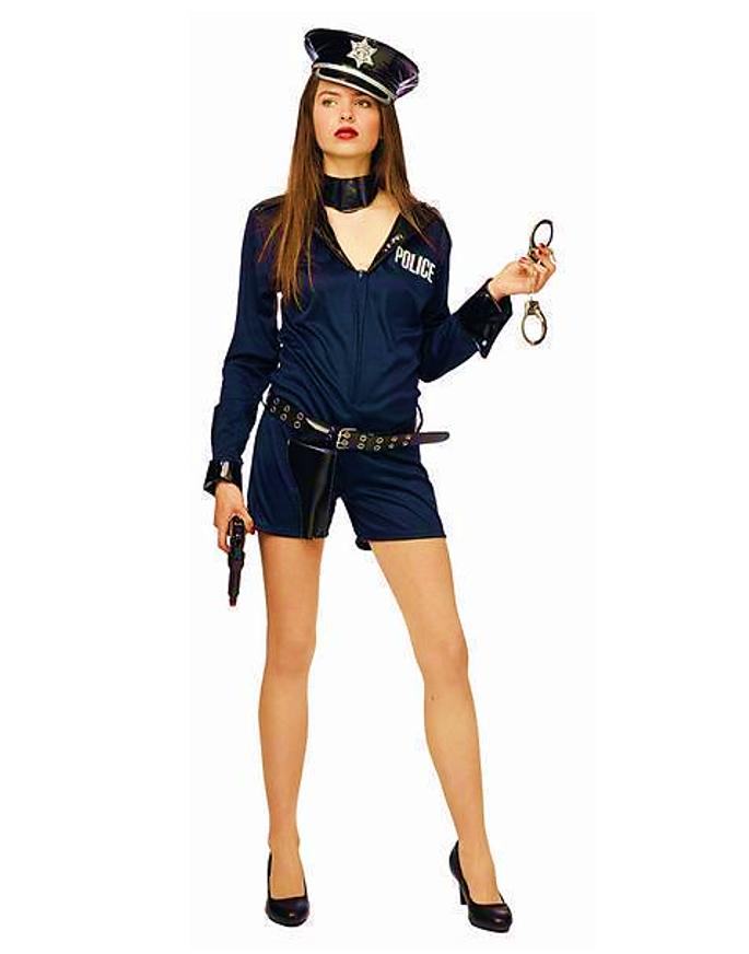 Politievrouw Kostuum  Sexy