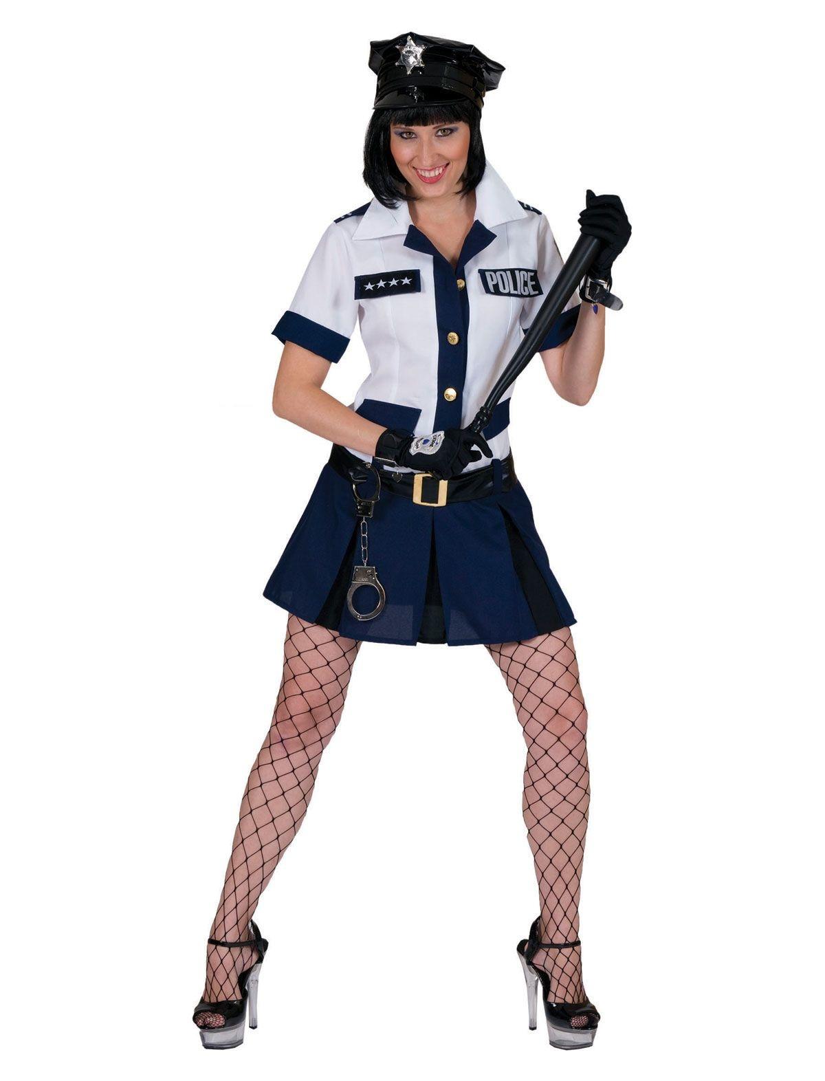 Politievrouw  Amy   Kostuum