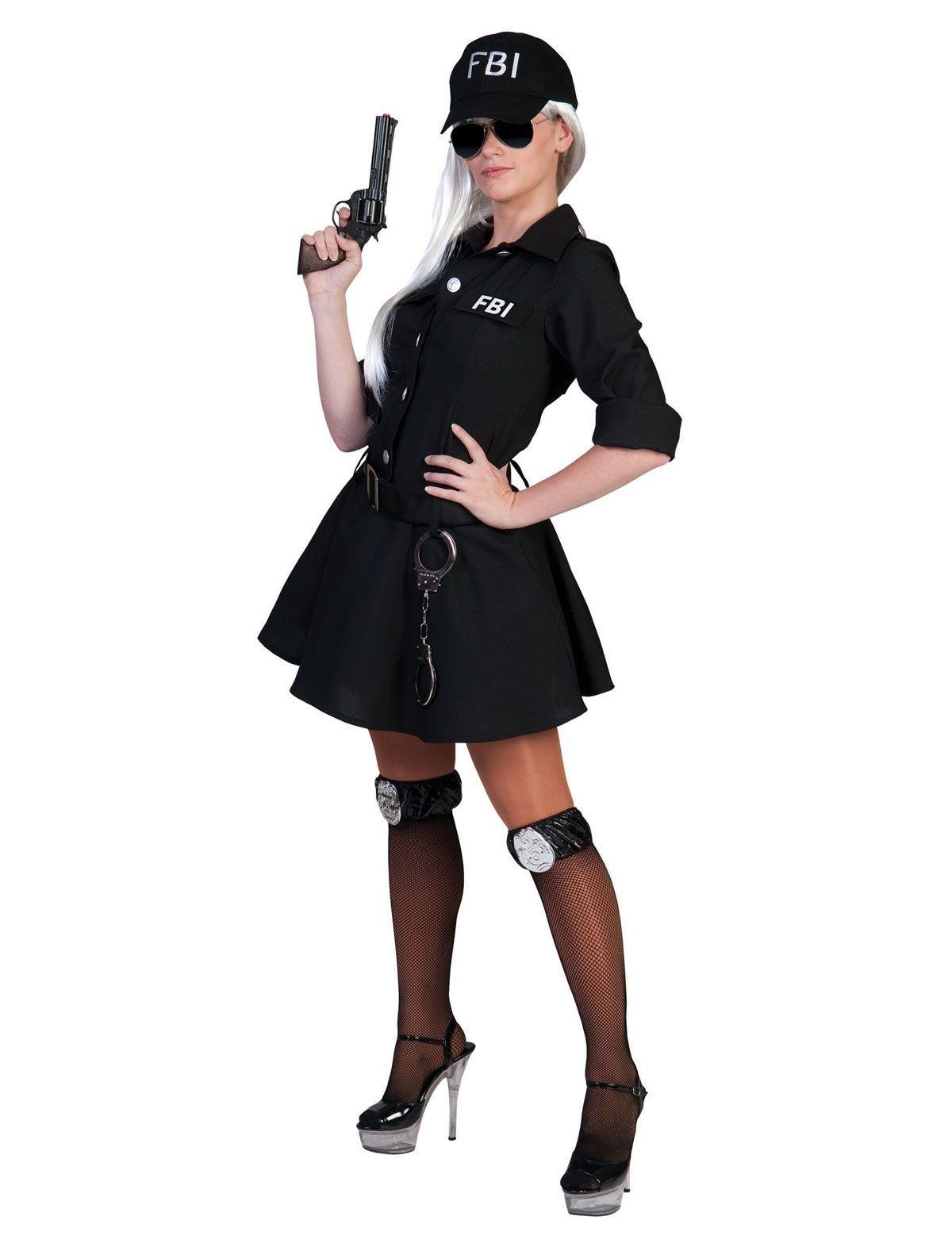 FBI Vrouw Kostuum