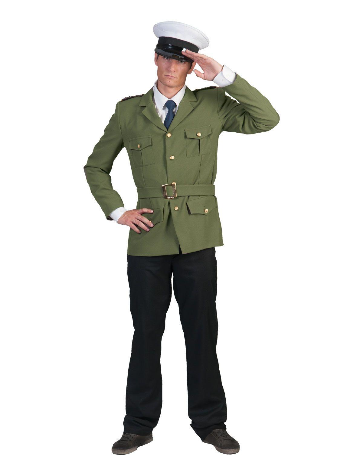 Leger Commandant Karl  Kostuum