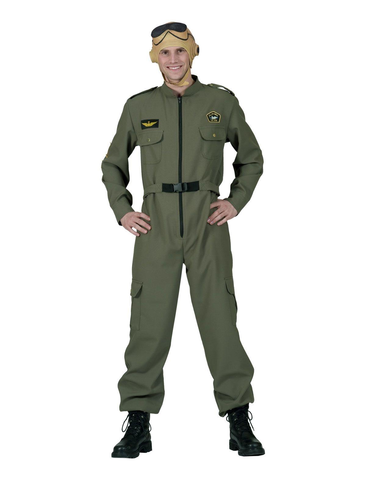 Leger Piloot Randy |Top Gun kostuum