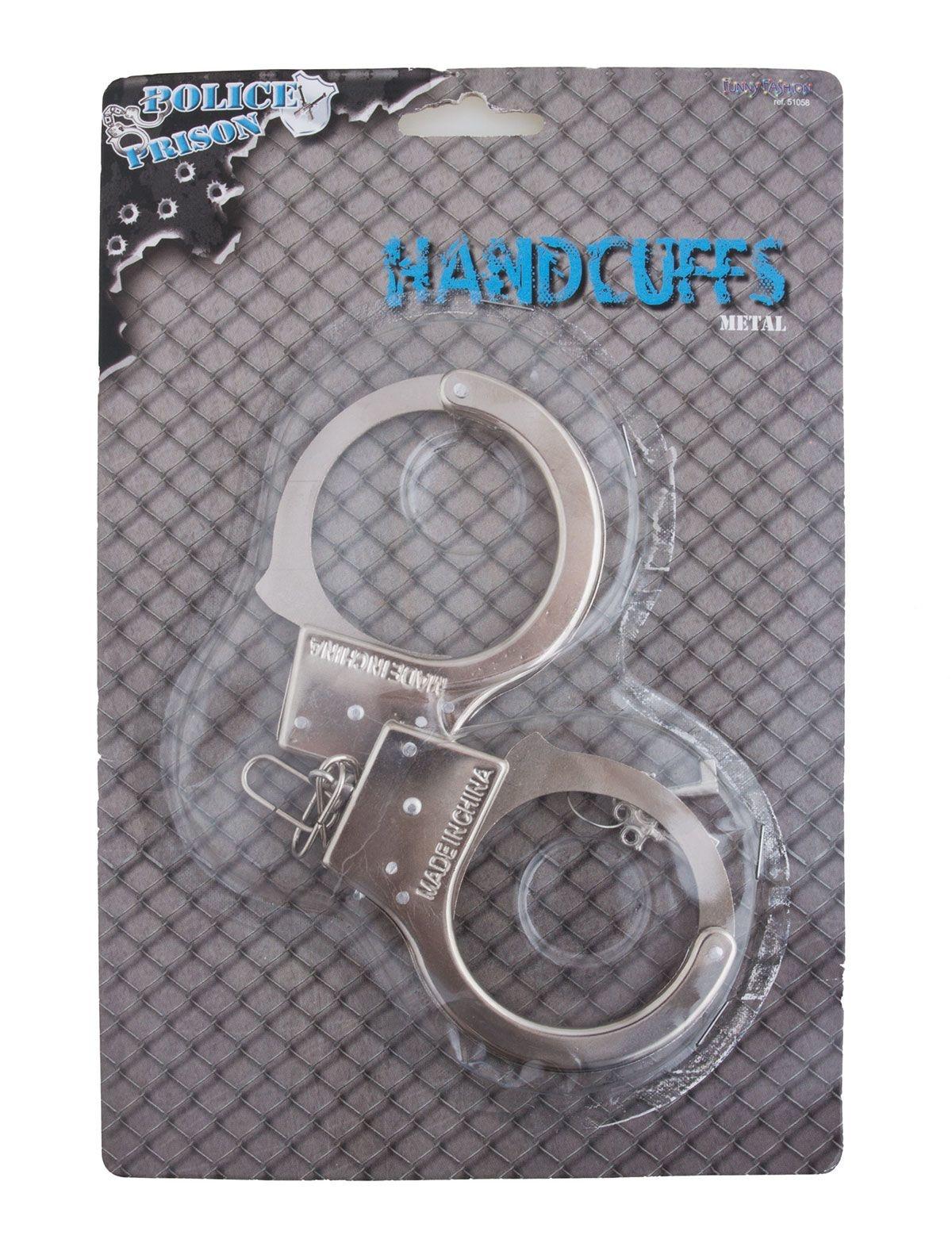 Metalen Handboeien   Politie