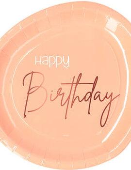 Happy Birthday Bordjes | Elegant Lush Blush
