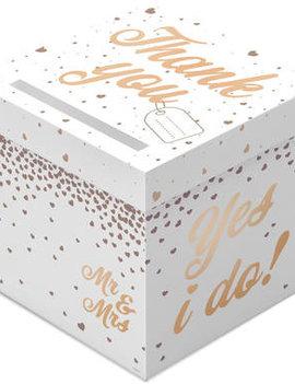 Enveloppendoos Huwelijk | Bruiloft geschenkdoos