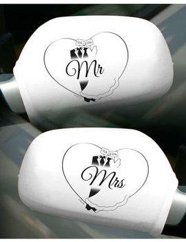Autospiegelhoezen | Huwelijk/Bruiloft