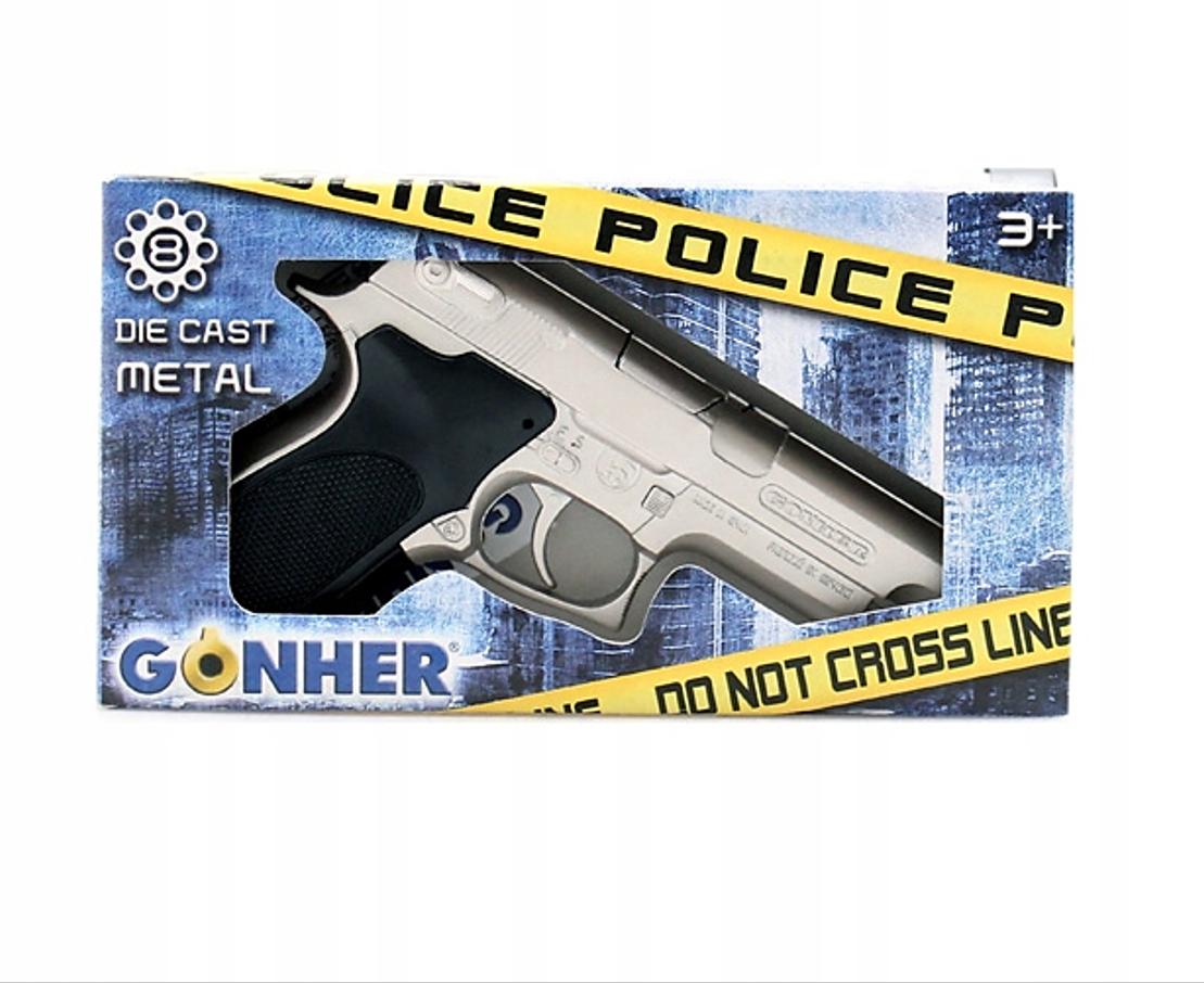 Pistool | Neppistool Politie - Zilver