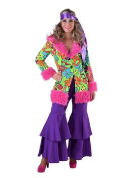 Hippie Jas/ Jacket Bont | Dameskostuum