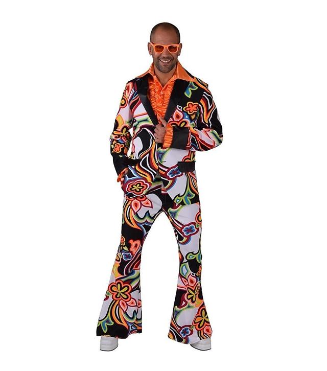 70's Disco Hippie Kostuum | Herenkostuum