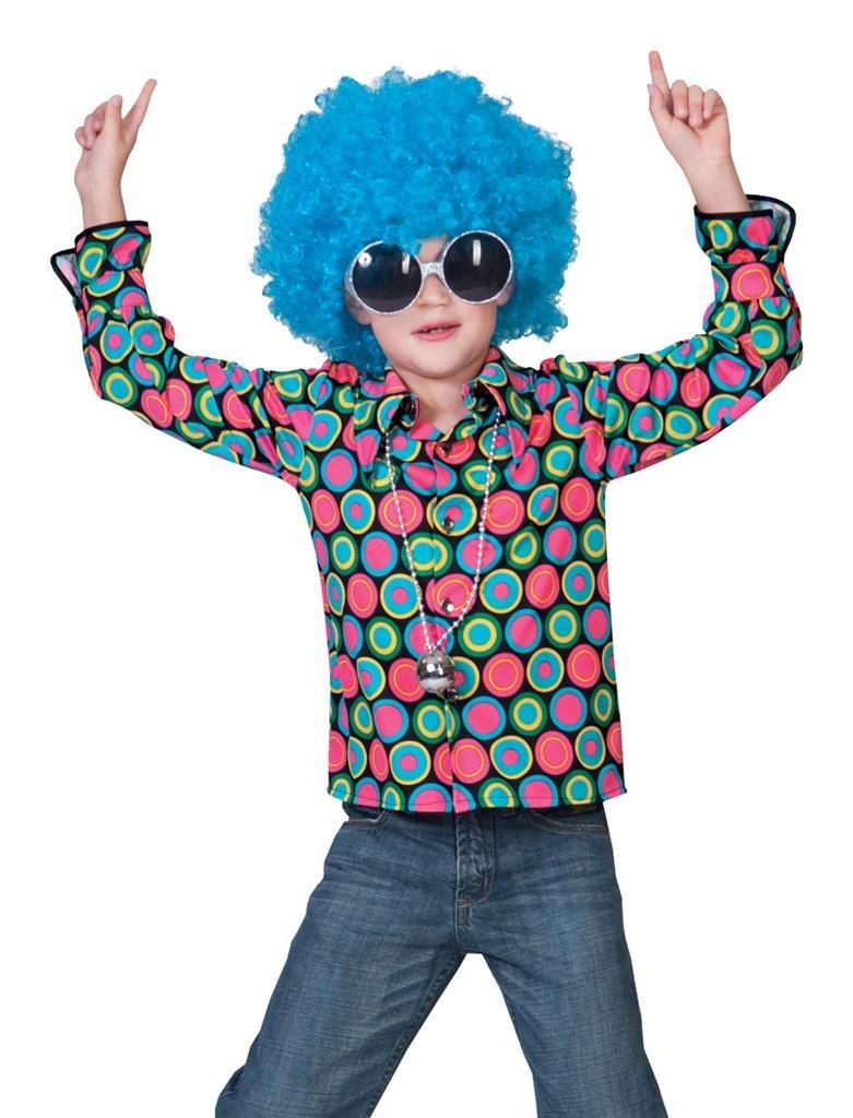 Polka Dots Disco/Hippie  Shirt | Kinderkostuum