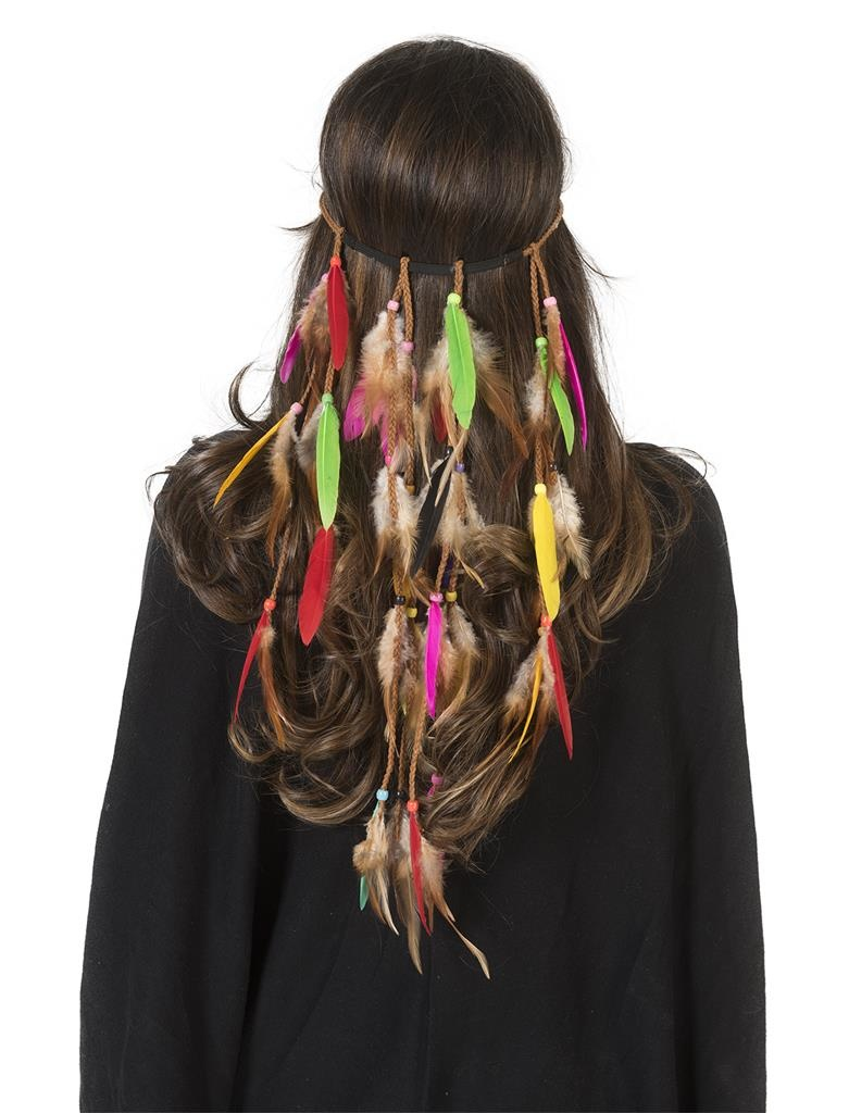 Hippie Feather Haarband | Indian Feathers