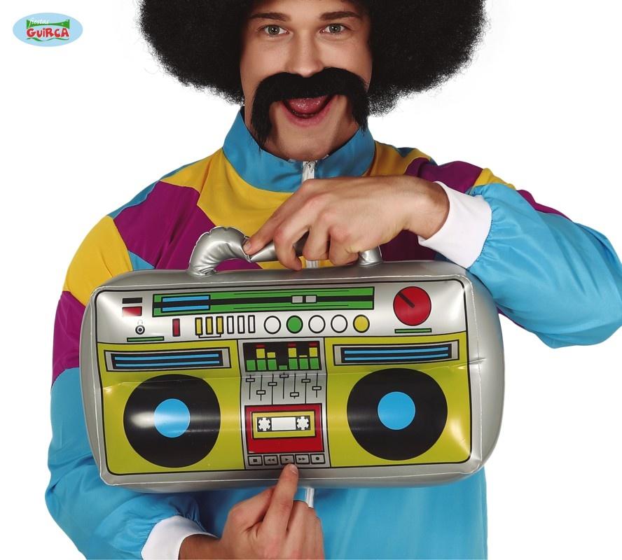 Opblaas Radio | Muziekbox Opblaasbaar