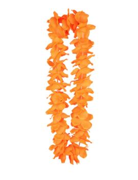 Hawaiikrans Oranje | Fluo Bloemenkrans
