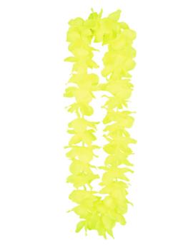 Hawaiikrans Geel | Fluo Bloemenkrans