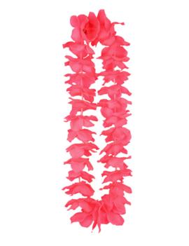 Hawaiikrans Roze | Fluo Bloemenkrans